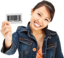 Click to buy 1 UPC bar code