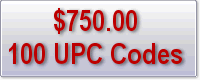 Click to buy 100 UPC barcodes